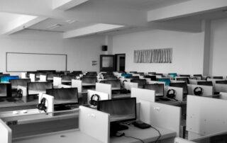 telecom company to help with downsizing